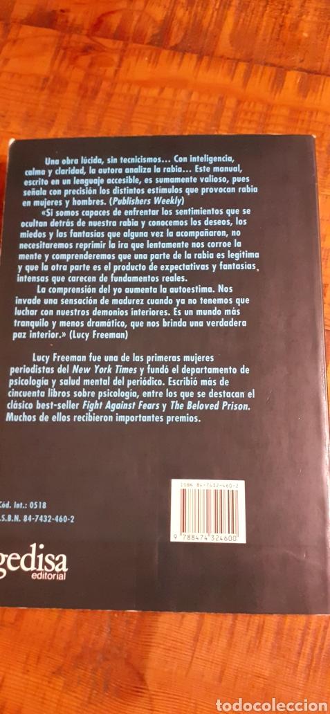 Libros: LA IRA, LA FURIA,LA RABIA.COMO COMPRENDER Y TRANSFORMAR LOS SENTIMIENTOS DESTRUCTIVOS REPRIMIDOS. - Foto 2 - 186105368