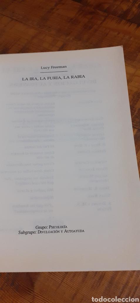 Libros: LA IRA, LA FURIA,LA RABIA.COMO COMPRENDER Y TRANSFORMAR LOS SENTIMIENTOS DESTRUCTIVOS REPRIMIDOS. - Foto 4 - 186105368