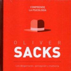 Libros: OLIVER SACKS, LOS DESPERTARES: PERCEPCION Y MEMORIA - COMPRENDE LA PSICOLOGIA N. 10 (PRECINTADO). Lote 193670907