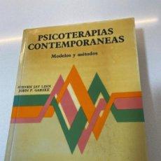 Libros: PSICOTERAPIAS CONTEMPORÁNEAS. MODELOS Y MÉTODOS. Lote 195568418