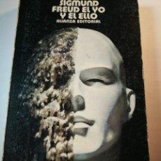 Libros: EL YO Y EL ELLO. SIGMUND FREUD. Lote 196078735