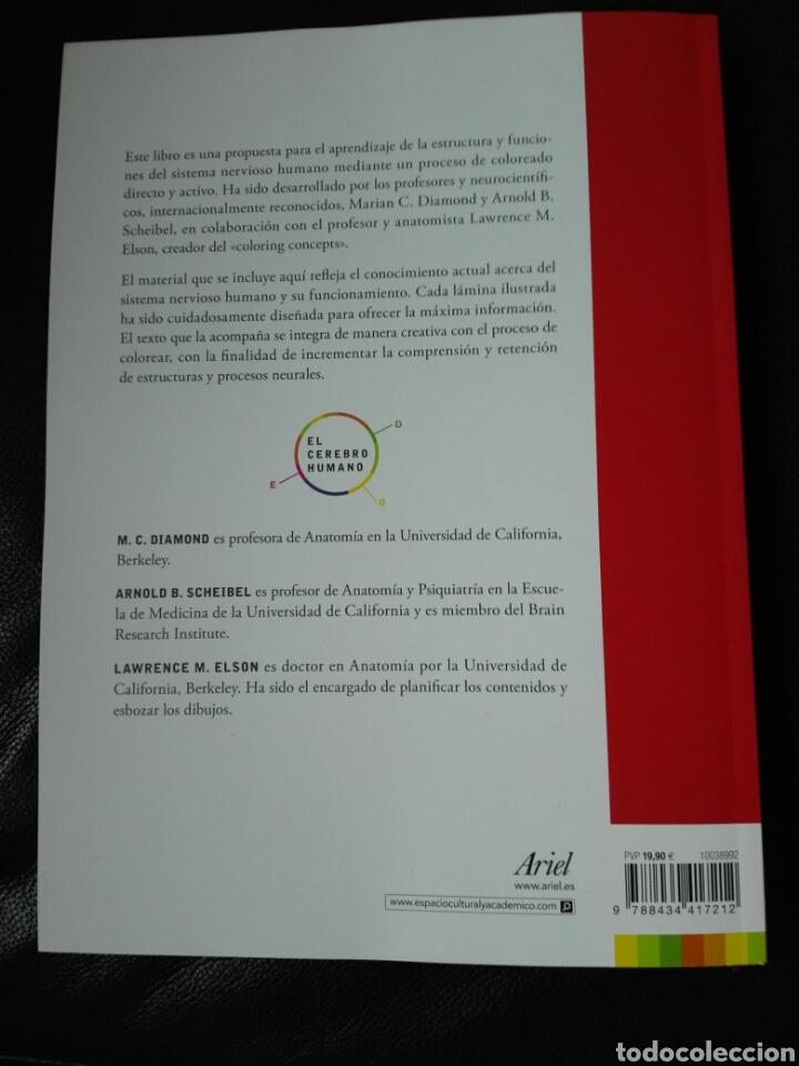 Libros: El cerebro humano. Libro de trabajo Marian C. Diamond | A B Scheibel Lawrence M Elson Libro nuevo - Foto 2 - 198141587