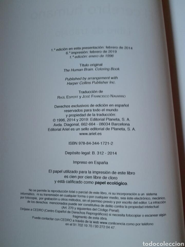 Libros: El cerebro humano. Libro de trabajo Marian C. Diamond | A B Scheibel Lawrence M Elson Libro nuevo - Foto 6 - 198141587