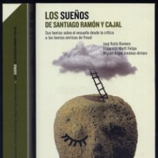 Libros: LOS SUEÑOS DE SANTIAGO RAMÓN Y CAJAL. SUS TEORÍAS SOBRE EL ENSUEÑO DESDE LA CRÍTICA A LAS... 2014.. Lote 198944765