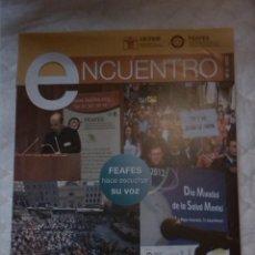 Libros: REVISTA ENCUENTRO. SALUD MENTAL.. Lote 203307340