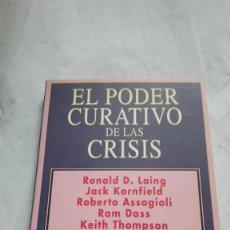 Libros: EL PODER CURATIVO DE LAS CRISIS STANISLAV GROF. Lote 206563041