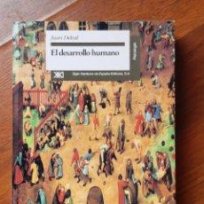 Libros: EL DESARROLLO HUMANO, JUAN DELVAL. Lote 208060961