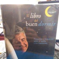 Libros: EL LIBRO DEL BUEN DORMIR-EDICION SIN ABRIR CON DVD Y CD DE MUSICA COMPLETO,DR EDUARD ESTIVILL,NUEVO. Lote 208385207