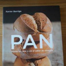 Libros: PAN, XAVIER BARRIGA. CIRCULO DE LECTORES, 2010. TAPA BLANDA. COMO NUEVO.. Lote 210539711
