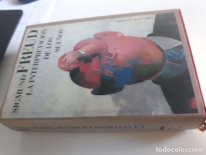 LA INTERPRETACION DE LOS SUEÑOS SIGMUND FREUD CIRCULO LECTORES 1989 (Libros Nuevos - Ciencias, Manuales y Oficios - Psicología y Psiquiatría )