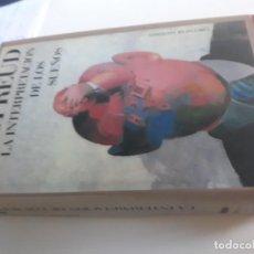 Libros: LA INTERPRETACION DE LOS SUEÑOS SIGMUND FREUD CIRCULO LECTORES 1989. Lote 212889631