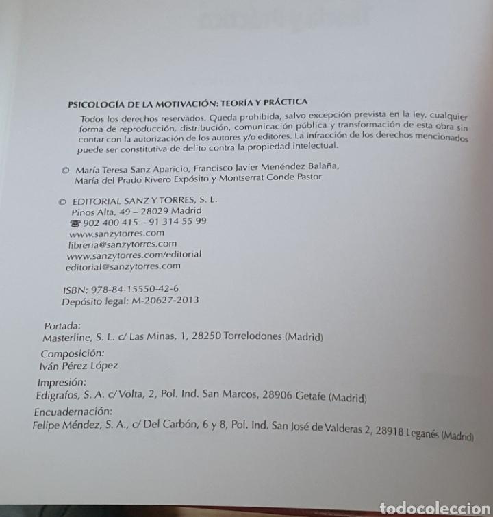 Libros: Psicología de la motivación UNED - Foto 2 - 217590922