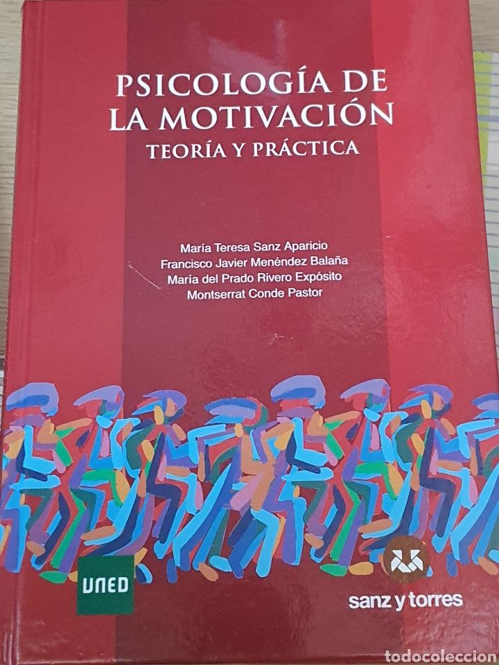 PSICOLOGÍA DE LA MOTIVACIÓN UNED (Libros Nuevos - Ciencias, Manuales y Oficios - Psicología y Psiquiatría )