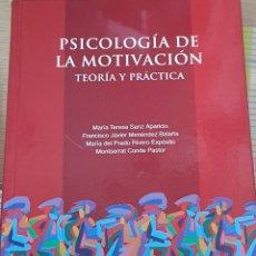 Libros: PSICOLOGÍA DE LA MOTIVACIÓN UNED. Lote 217590922