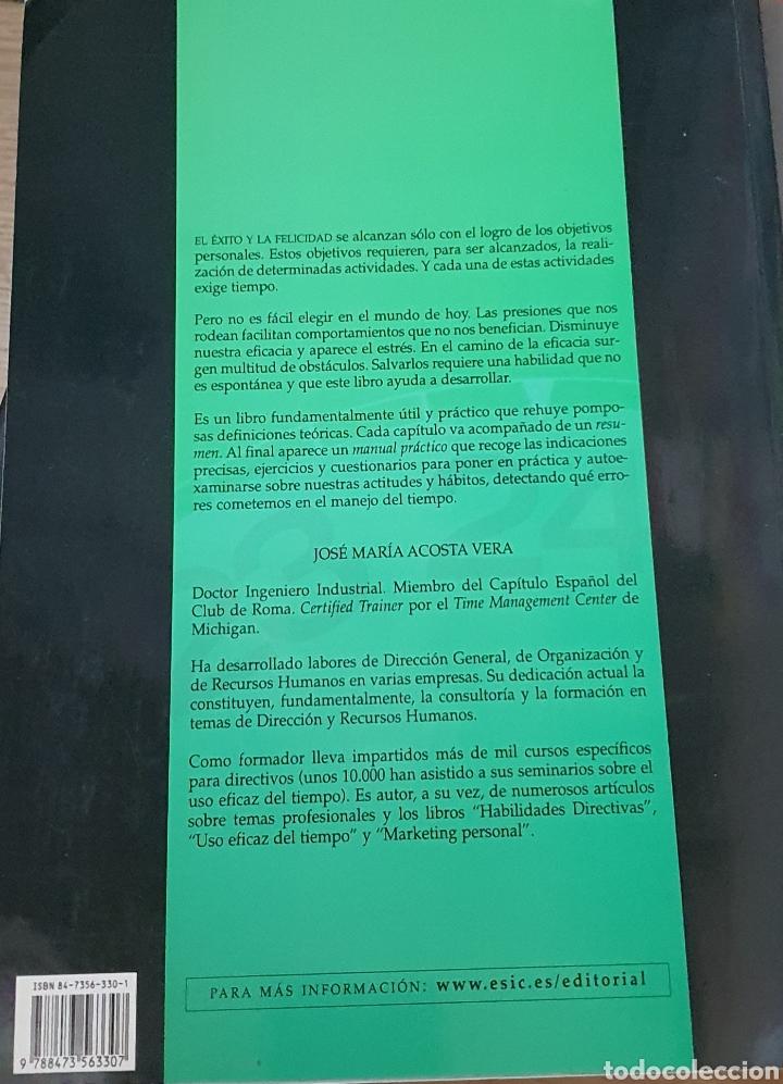 Libros: GESTIÓN EFICAZ DEL TIEMPO Y CONTROL DEL ESTRES - Foto 3 - 217761957