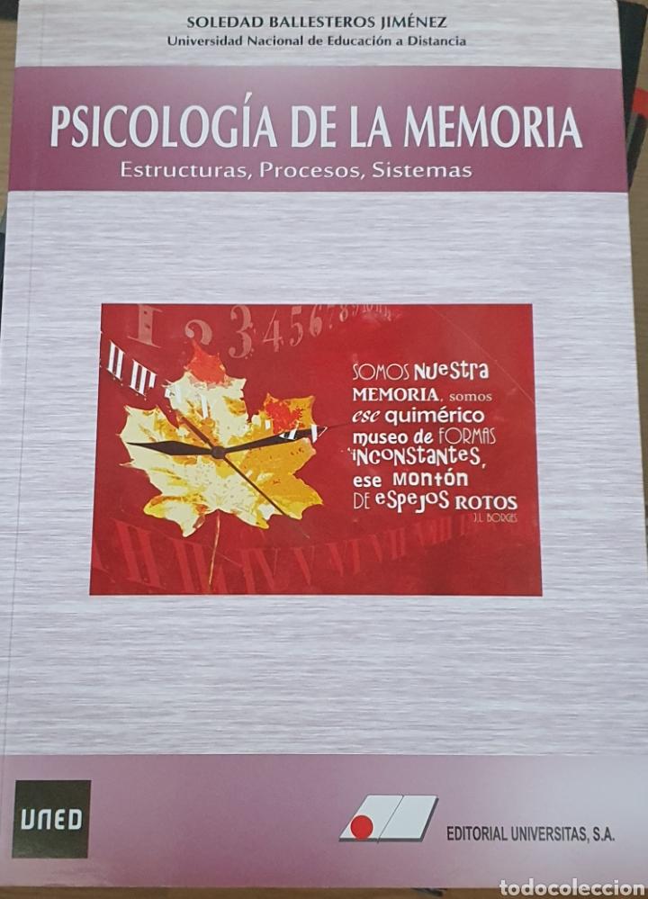 PSICOLOGÍA DE LA MEMORIA. ESTRUCTURA, PROCESOS Y SISTEMAS (Libros Nuevos - Ciencias, Manuales y Oficios - Psicología y Psiquiatría )