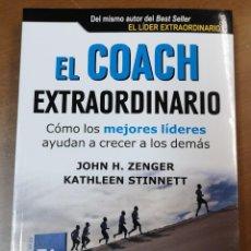Libros: EL COACH EXTRAORDINARIO-JOHN H.ZENGER/KATHLEEN STINNETT-EDITORIAL PROFIT. Lote 218398415