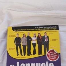 Libros: EL LENGUAJE DEL CUERPO. ALLAN Y BARBARA PEASE. Lote 218453981