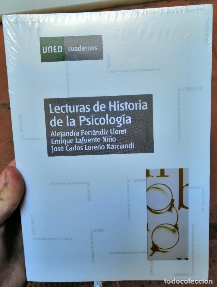 LECTURAS DE HISTORIA DE LA PSICOLOGÍA. UNED. FERRÁNDIZ LLORET, ALEJANDRA; LAFUENTE NIÑO, ENRIQUE (Libros Nuevos - Ciencias, Manuales y Oficios - Psicología y Psiquiatría )