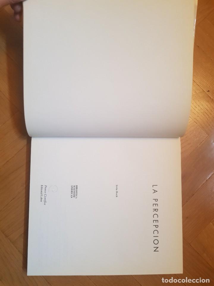 Libros: La Percepción Irvin Rock Biblioteca Científica Americana - Foto 3 - 241450370