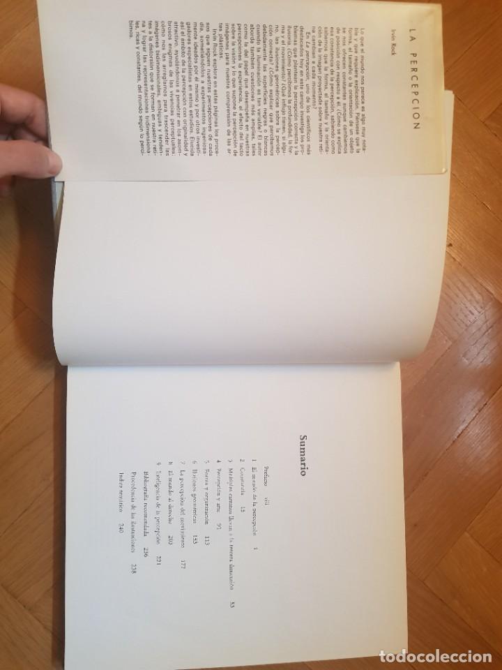 Libros: La Percepción Irvin Rock Biblioteca Científica Americana - Foto 5 - 241450370