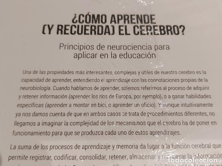Libros: ¿ CÓMO APRENDE (Y RECUERDA) EL CEREBRO ? / NEUROCIENCIA Y PSICOLOGÍA / 25 / PRECINTADO. - Foto 2 - 237984175