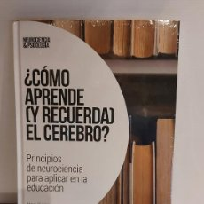 Livres: ¿ CÓMO APRENDE (Y RECUERDA) EL CEREBRO ? / NEUROCIENCIA Y PSICOLOGÍA / 25 / PRECINTADO.. Lote 226965625