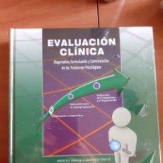 Libros: EVALUACIÓN CLÍNICA UNED- PSICOLOGÍA. Lote 227674695
