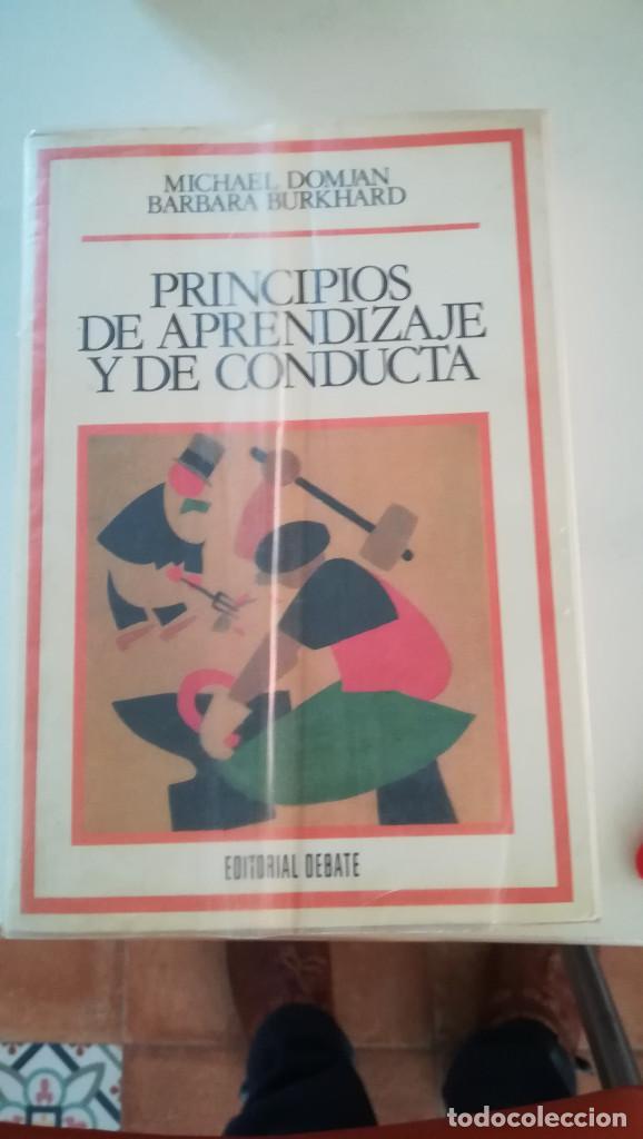 PRINCIPIOS DE APRENDIZAJE Y DE CONDUCTA (Libros Nuevos - Ciencias, Manuales y Oficios - Psicología y Psiquiatría )