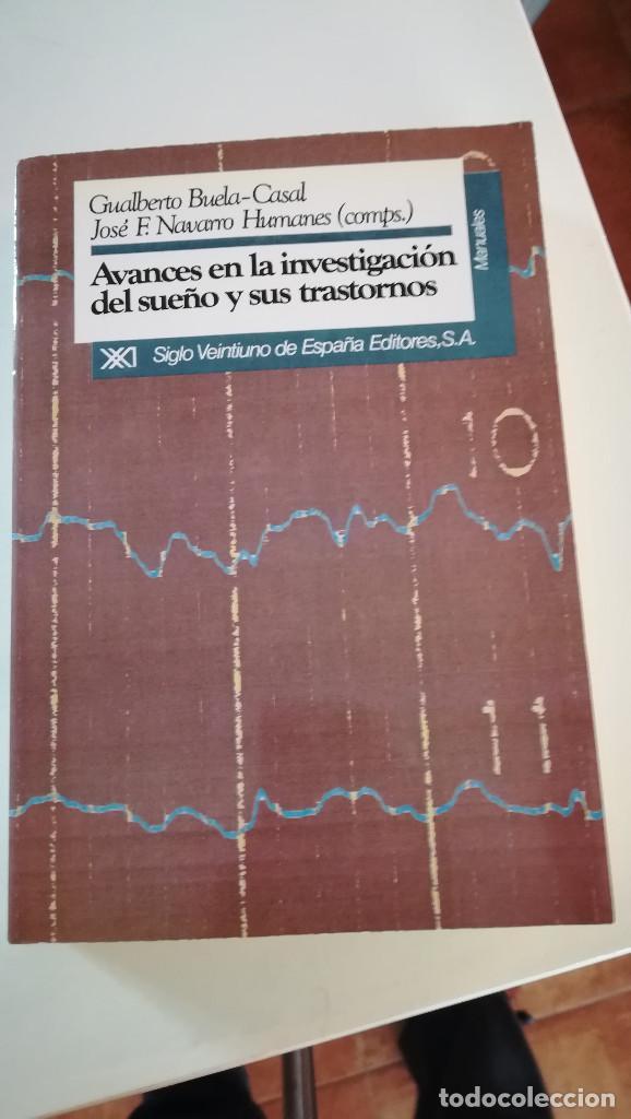 AVANCES EN INVESTIGACION DEL SUEÑO Y SUS TRASTORNOS (Libros Nuevos - Ciencias, Manuales y Oficios - Psicología y Psiquiatría )