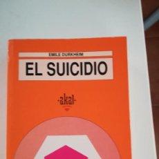 Libros: EL SUICIDIO, DE E. DURKHEIM. Lote 227743910