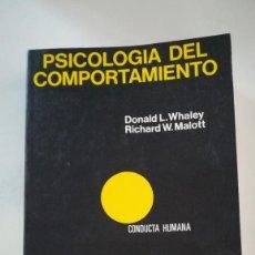 Libros: PSICOLOGIA DEL COMPORTAMIENTO. Lote 227746160