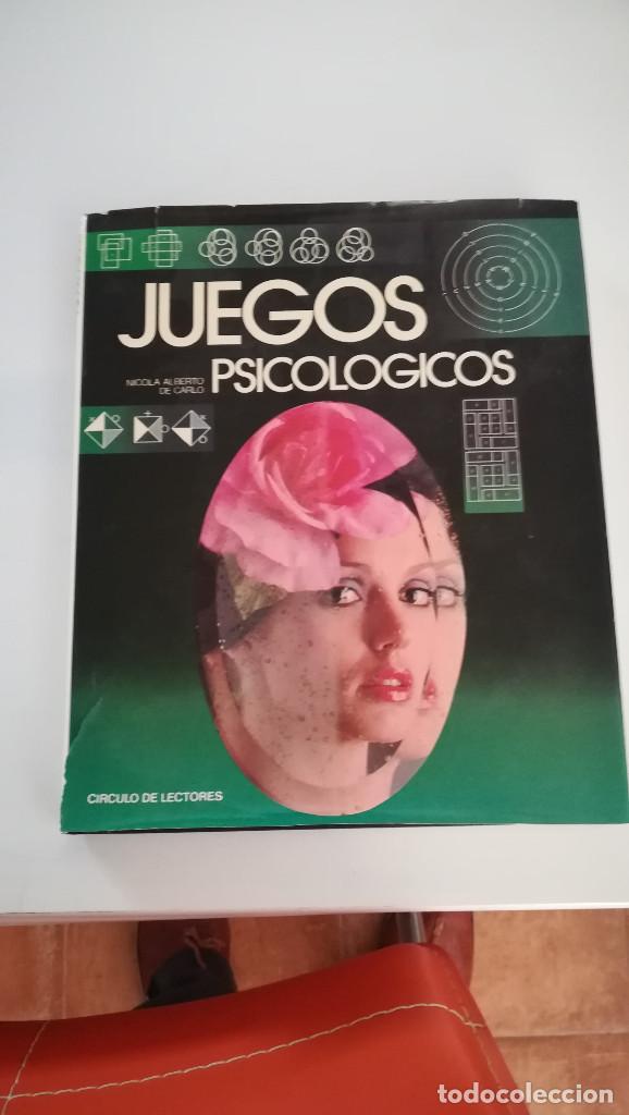 LIBRO SOBRE JUEGOS PSICOLOGICOS (Libros Nuevos - Ciencias, Manuales y Oficios - Psicología y Psiquiatría )