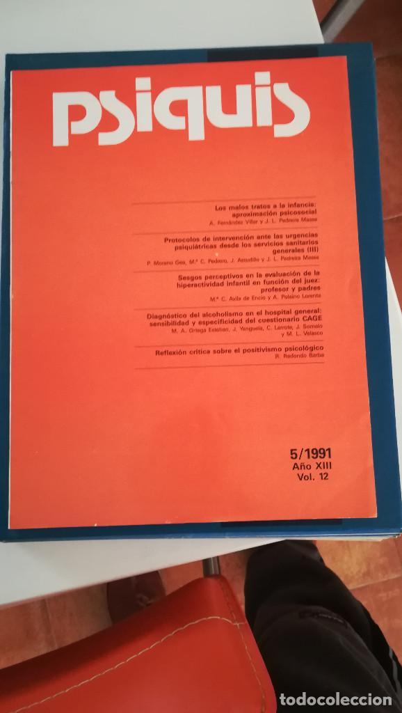 REVISTA PSIQUIS, DE MAYO DE 1991 (Libros Nuevos - Ciencias, Manuales y Oficios - Psicología y Psiquiatría )