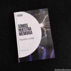 Libros: SOMOS NUESTRA MEMORIA - E. GARCÍA GARCÍA, COL. NEUROCIENCIA Y PSICOLOGÍA, EMSE EDAPP / EL PAÍS. Lote 230875095