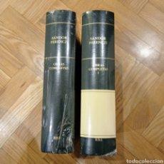 Libros: SÁNDOR FERENCZI - OBRAS COMPLETAS - RBA. Lote 241494730