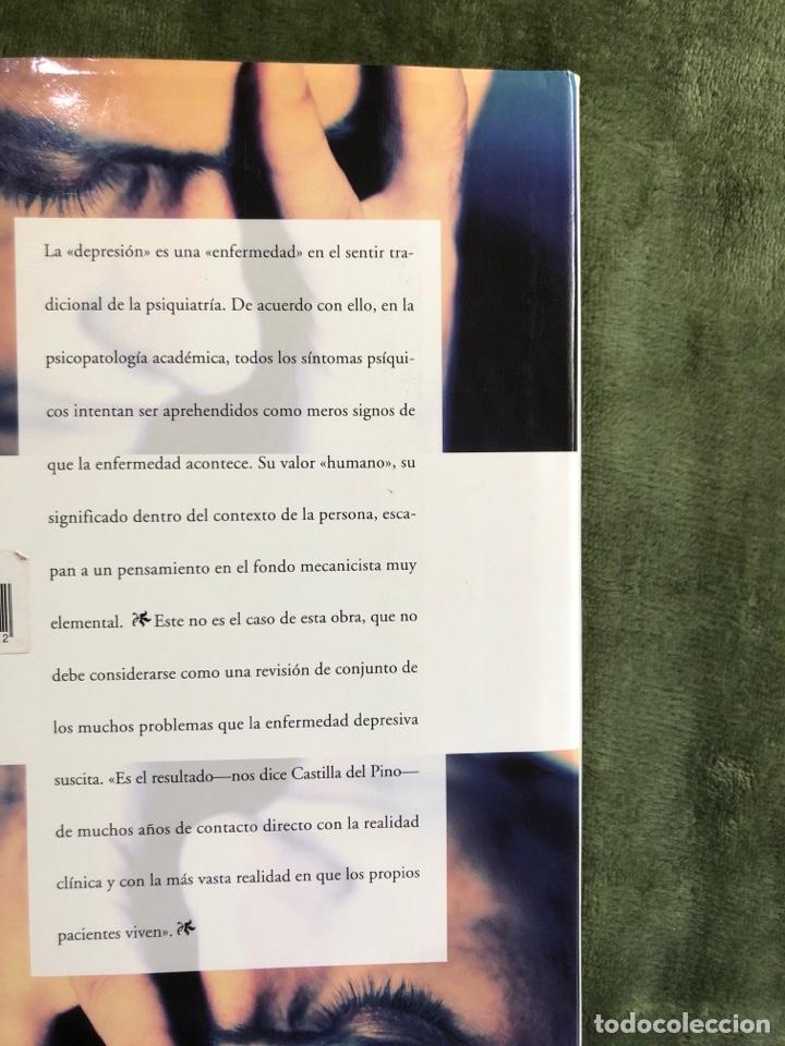 Libros: Un estudio sobre la depresión ( Carlos Castilla del Pino) - Foto 2 - 241917825