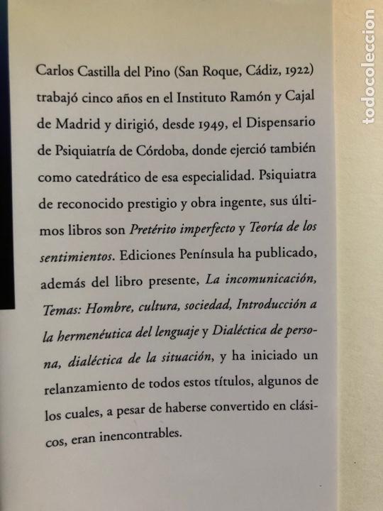 Libros: Un estudio sobre la depresión ( Carlos Castilla del Pino) - Foto 3 - 241917825