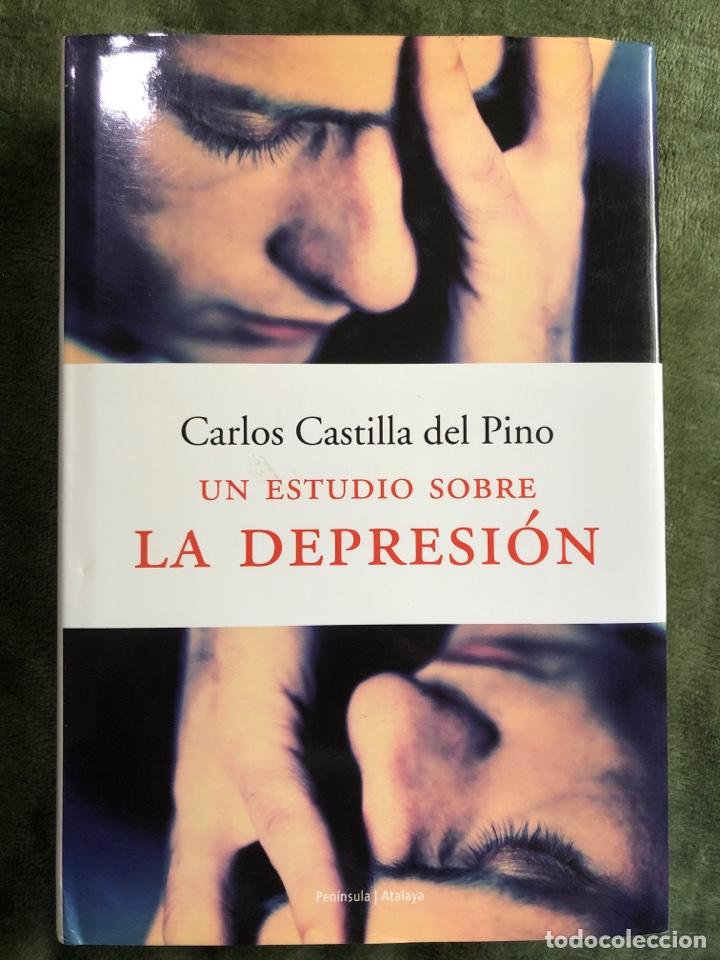 UN ESTUDIO SOBRE LA DEPRESIÓN ( CARLOS CASTILLA DEL PINO) (Libros Nuevos - Ciencias, Manuales y Oficios - Psicología y Psiquiatría )