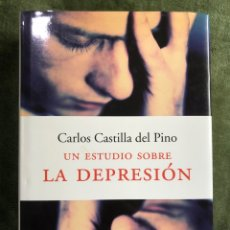 Libros: UN ESTUDIO SOBRE LA DEPRESIÓN ( CARLOS CASTILLA DEL PINO). Lote 241917825
