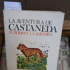 Libros: RICHARD DE MILLE.LA AVENTURA DE CASTANEDA/EL PODER Y LA GLORIA. Lote 244003575