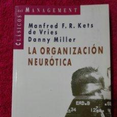 Libros: LA ORGANIZACIÓN NEURÓTICA. Lote 244939250