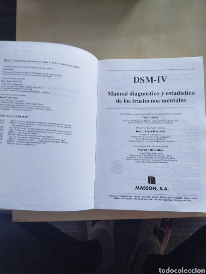 Libros: Manual diagnóstico y estadístico de los trastornos mentales - Foto 3 - 247560570