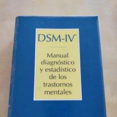 Libros: MANUAL DIAGNÓSTICO Y ESTADÍSTICO DE LOS TRASTORNOS MENTALES. Lote 247560570