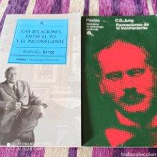 Livres: PSICOLOGÍA, LOTE CARL G. JUNG.. Lote 261958080