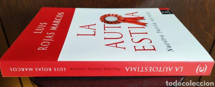 Libros: Libro; LA AUTOESTIMA, Nuestra Fuerza Secreta; Luís Rojas Marcos. Año 2007. - Foto 3 - 252124985