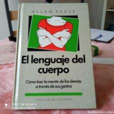 Libros: EL LENGUAJE DEL CUERPO DE ALLAN PEASE VER FOTOS.. Lote 253255055