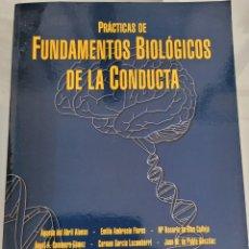 Libros: FUNDAMENTOS BIOLÓGICOS DE LA CONDUCTA. AGUEDA DEL ABRIL ALONSO. Lote 256118500