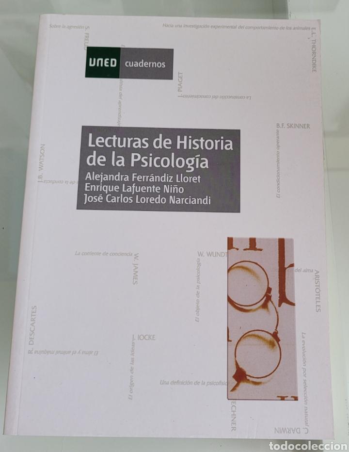 LECTURAS DE HISTORIA DE LA PSICOLOGÍA. ALEJANDRA FERNÁNDIZ. (Libros Nuevos - Ciencias, Manuales y Oficios - Psicología y Psiquiatría )