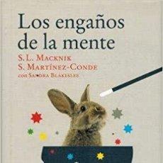 Libros: LOS ENGAÑOS DE LA MENTE. Lote 257605720